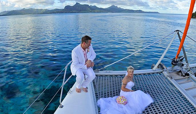 Mauritius Catamaran Wedding Private Cruise